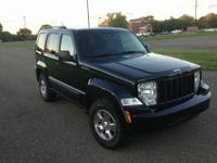 YOU ARE VIEWING A 2010 JEEP LIBERTY SPORT 4X4 BLACK