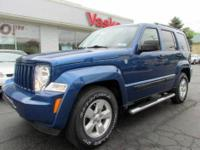 2010 Jeep Liberty Sport 4X4 in luxuriant Deep Water