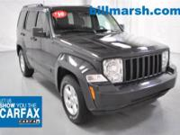 Liberty Sport, 4WD, Charcoal, Air Conditioning, CARFAX