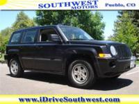 You will love this Black 2010 Jeep Patriot Sport 4WD!