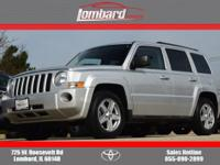 Options:  2010 Jeep Patriot Sport 4X4|Silver/Black|V4
