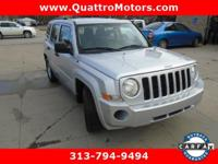 Come see this 2010 Jeep Patriot Sport. Its Automatic