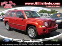 WOW! Check out this Like New Jeep Patriot! This