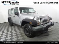 New Price! 2010 Jeep Wrangler Unlimited Sport Bright