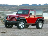 2010 JEEP WRANGLER. 4WD. Happily globe-trots off the