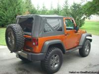 This is an extremely clean 2010 Jeep Wrangler Mountain