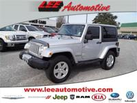 Look no further this 2010 Jeep Wrangler Sahara 2dr 4x4