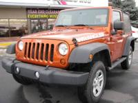 2010 Jeep Wrangler Sport 4x4 with only 35 K miles!!