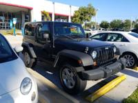 This 2010 Jeep Wrangler Sport is proudly offered by Ed