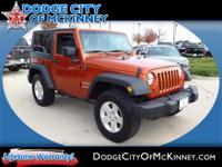 Load your family into the 2010 Jeep Wrangler! Go