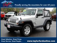 Options:  2010 Jeep Wrangler Sport|4X4 Sport 2Dr