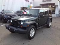 Load your family into the 2010 Jeep Wrangler Unlimited!