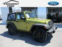 NEW Price! This 2010 Jeep Wrangler Sport will handle