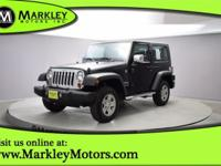 Our Carfax One Owner 2010 Jeep Wrangler Sport 4x4 shown