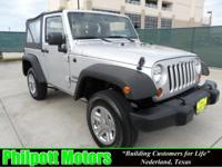 Options Included: N/A2010 Jeep Wrangler Sport, silver