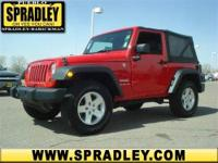 This Sport Utility is hot! This 2010 Jeep Wrangler gets