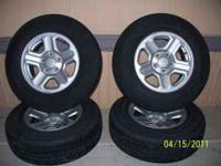 Great deal on a set of 4 Good Year Wrangler SP Size