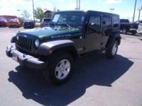Jeep Certified, LOW MILES - 20,341! Rubicon trim.