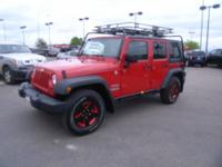 Sport trim. Jeep Certified, LOW MILES - 44,986! CD