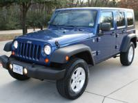 4X4 HARDTOP! SPORT PACKAGE UNLIMITED! NEVER BEEN