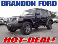 Four Wheel Drive, Tow Hooks, Power Steering, 4-Wheel