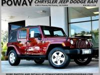 CERTIFITED BY JEEP - 2010 WRANGLER UNLIMITIED SAHARA