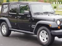 - -1-OWNER WRANGLER SPORT WITH WARRANTY AND 54,908