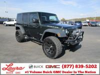 Recent Trade! Unlimited Rubicon 3.8 V6 4x4. Black Hard