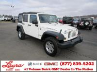 1-Owner New Vehicle Trade! Unlimited Rubicon 3.8 V6