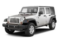 Jeep Wrangler Unlimited Sahara 2010 CARFAX One-Owner.