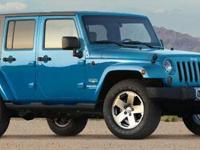 2010 Jeep Wrangler Unlimited SAHARA. Serving the