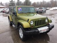 Options:  2010 Jeep Wrangler Sahara|One Owner|Clean