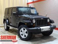 New Arrival! This 2010 Jeep Wrangler Unlimited Sahara
