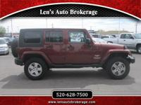 Options:  2010 Jeep Wrangler Clean 4 Door Jeep Wrangler