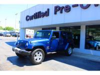 Options:  2010 Jeep Wrangler Unlimited Sahara||4X4|Abs