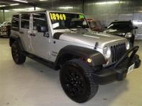 WRANGLER UNLIMITED SPORT: 4WD-1 OWNER-LOCAL TRADE-SOFT