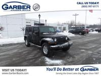 2010 Jeep Wrangler Unlimited SPORT! Featuring a 3.8L V6