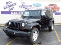 Check out this 2010 Jeep Wrangler Unlimited Sport. Its
