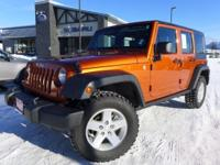 Options:  2010 Jeep Wrangler Unlimited Sport|Orange|6