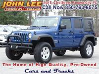 This 2010 Jeep Wrangler Unlimited Sport is for the Jeep