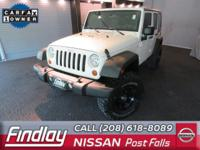 Look at this 2010 Jeep Wrangler Unlimited Sport. Its