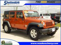 Options:  2010 Jeep Wrangler Unlimited Sport|4X4 Sport