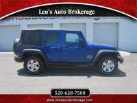 Options:  2010 Jeep Wrangler Offroad Ready New Body