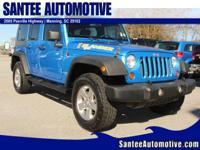 Exterior Color: surf blue, Body: SUV, Engine: 3.8L V6