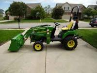 2010 John Deere 2305 hydrostat, hi and low, mid and