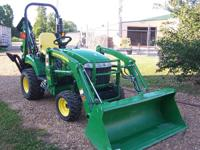 John Deere 2305 4 wheel drive tractor with hydrostatic