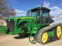 2010 John Deere 8345RT Tractor For Sale in Blencoe,