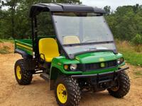 You're looking at our 2010 John Deer Gator 620i. This