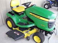 Selling very good condition John Deere Lawn Mower. It