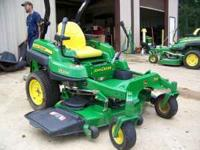 for sale is a practically new John Deere z710a